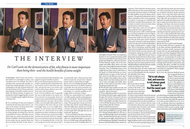 Article Preview: THE INTERVIEW, May 2014 | Maclean's