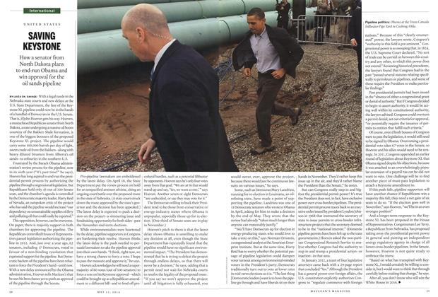 Article Preview: SAVING KEYSTONE, May 2014 | Maclean's