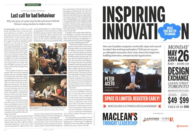 Article Preview: Last call for bad behaviour, May 2014 | Maclean's