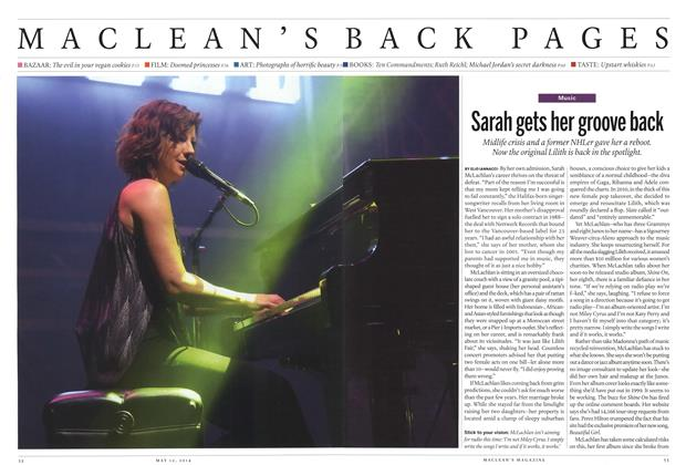 Article Preview: Sarah gets her groove back, May 2014 | Maclean's