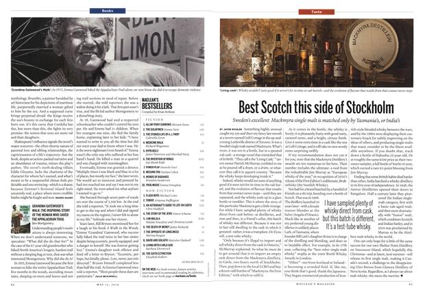 Article Preview: Best Scotch this side of Stockholm, May 2014 | Maclean's