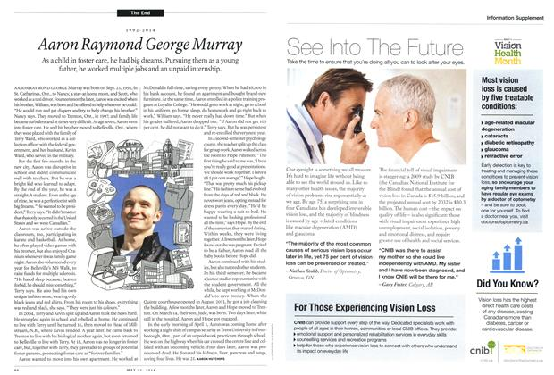Article Preview: 1992-2014 Aaron Raymond George Murray, May 2014 | Maclean's