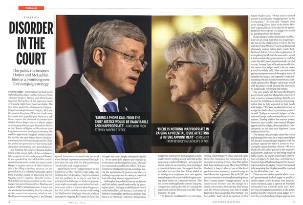 Article Preview: DISORDER IN THE COURT, May 2014 | Maclean's