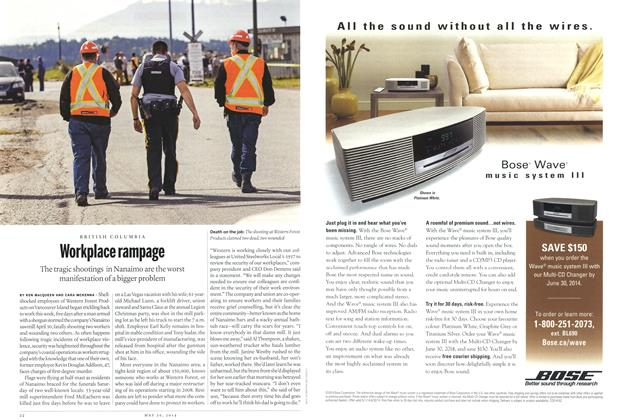 Article Preview: Workplace rampage, May 2014   Maclean's