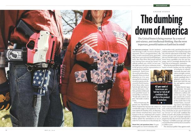 Article Preview: The dumbing down of America, May 2014 | Maclean's