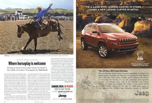 Article Preview: Where horseplay is welcome, May 2014   Maclean's