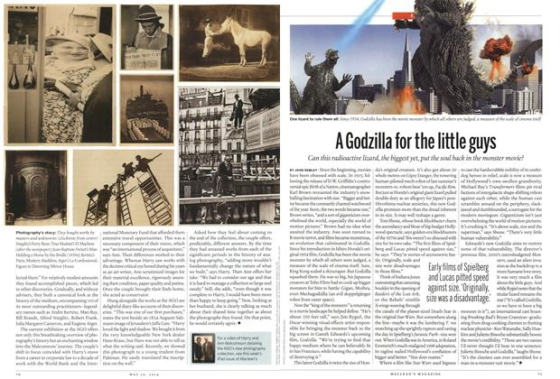 Article Preview: A Godzilla for the little guys, May 2014 | Maclean's