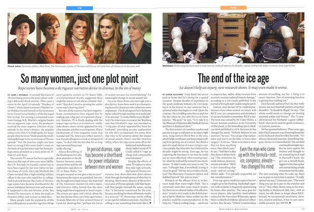 Article Preview: So many women, just one plot point, May 2014 | Maclean's