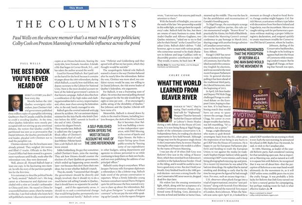 Article Preview: WHAT THE WORLD LEARNED FROM BEAVER RIVER, May 2014 | Maclean's