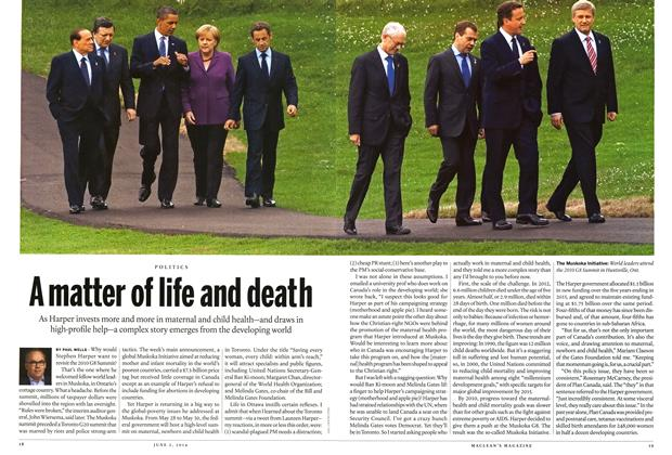 Article Preview: A matter of life and death, June 2014 | Maclean's