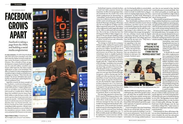 Article Preview: FACEBOOK GROWS APART, June 2014 | Maclean's