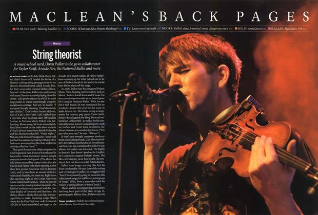 Article Preview: String theorist, June 2014 | Maclean's