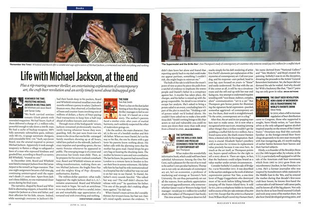 Article Preview: Life with Michael Jackson, at the end, JUNE 9,2014 2014 | Maclean's