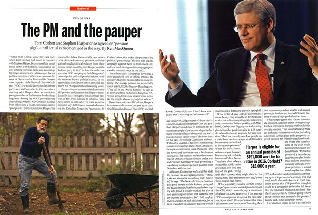 Article Preview: The PM and the pauper, JUNE 9,2014 2014 | Maclean's