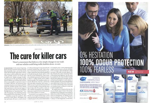 Article Preview: The cure for killer cars, June 2014 | Maclean's