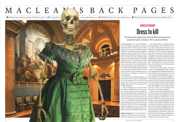 Article Preview: Dress to kill, June 2014 | Maclean's