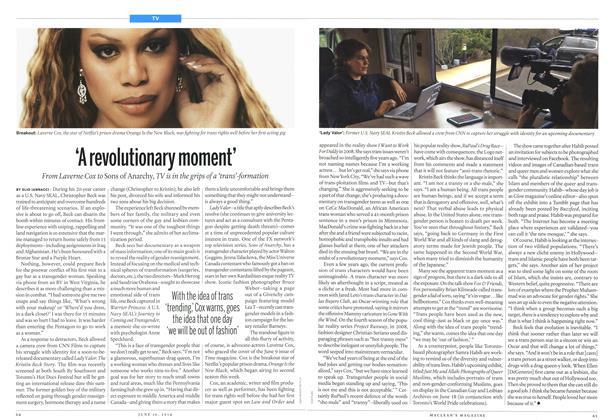 Article Preview: 'A revolutionary moment', June 2014 | Maclean's