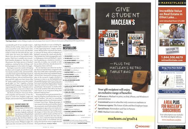 Article Preview: MACLEAN'S BESTSELLERS, June 2014 | Maclean's