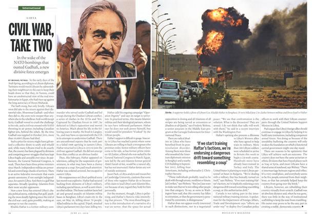 Article Preview: CIVIL WAR, TAKE TWO, >JUNE 23,2014 2014 | Maclean's