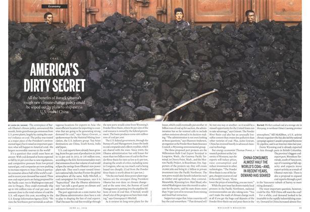 Article Preview: AMERICA'S DIRTY SECRET, >JUNE 23,2014 2014 | Maclean's