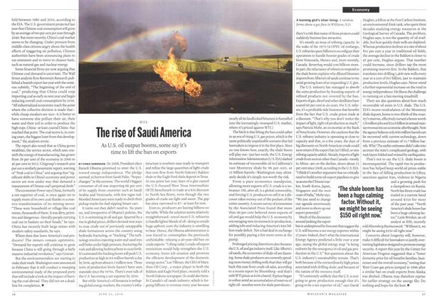 Article Preview: The rise of Saudi America, >JUNE 23,2014 2014 | Maclean's