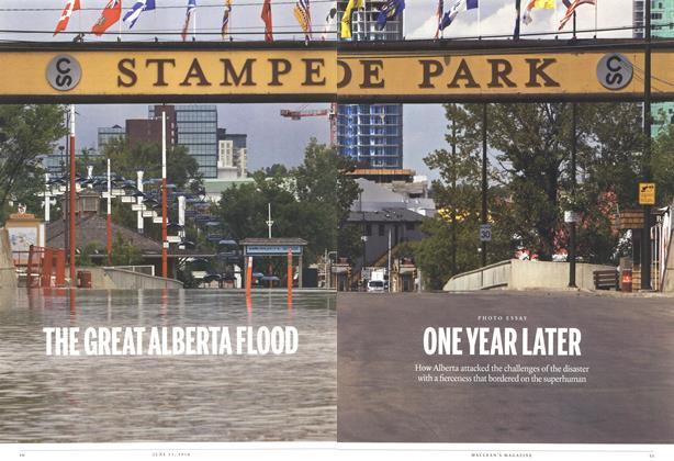 Article Preview: THE GREAT ALBERTA FLOOD, >JUNE 23,2014 2014 | Maclean's