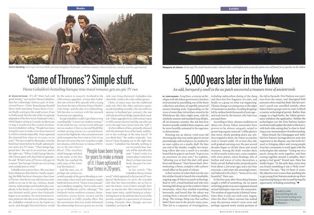 Article Preview: 'Game of Thrones'? Simple stuff., >JUNE 23,2014 2014 | Maclean's