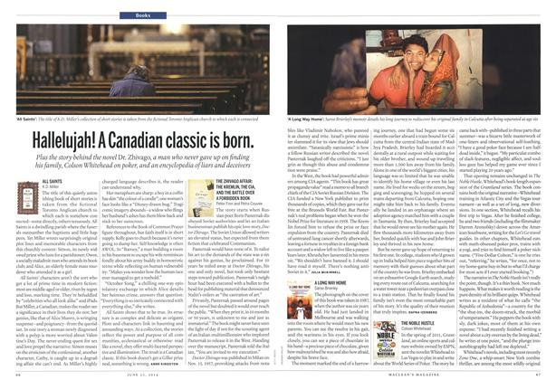 Article Preview: Hallelujah! A Canadian classic is born., >JUNE 23,2014 2014 | Maclean's