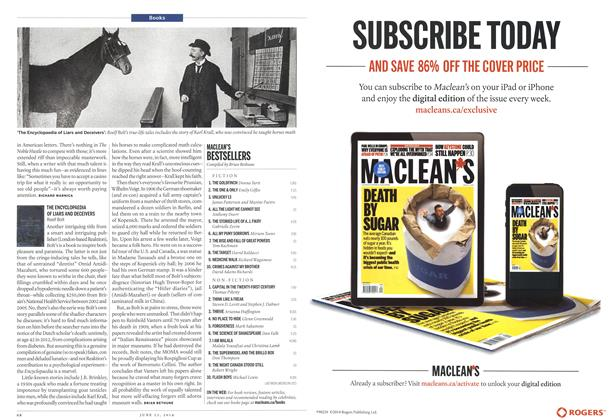 Article Preview: MACLEAN'S BESTSELLERS, >JUNE 23,2014 2014 | Maclean's