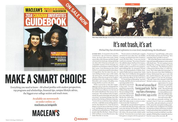 Article Preview: It's not trash, it's art, >JUNE 23,2014 2014   Maclean's