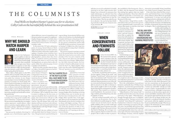 Article Preview: WHEN CONSERVATIVES AND FEMINISTS COLLIDE, >JUNE 23,2014 2014 | Maclean's