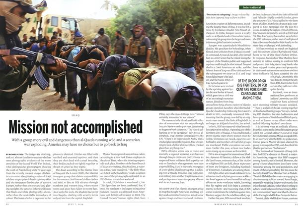 Article Preview: Mission not accomplished, July 2014 | Maclean's