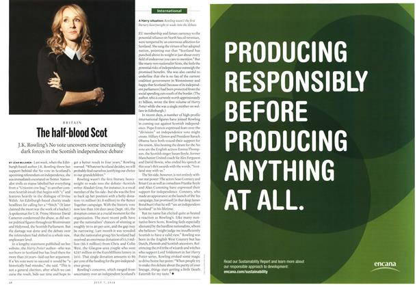Article Preview: The half-blood Scot, July 2014 | Maclean's
