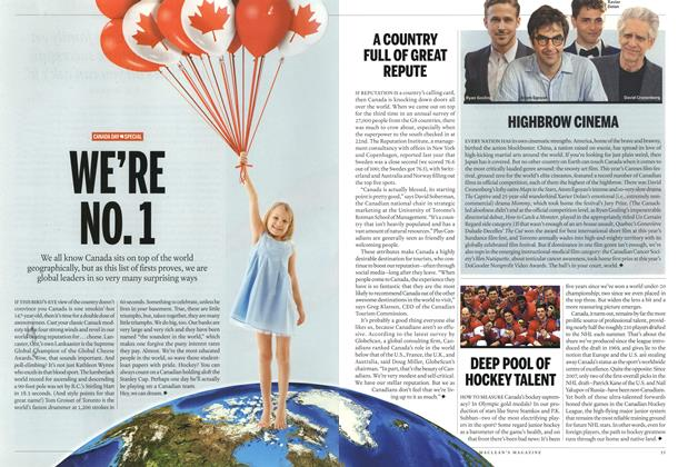 Article Preview: WE'RE NO. 1, July 2014 | Maclean's