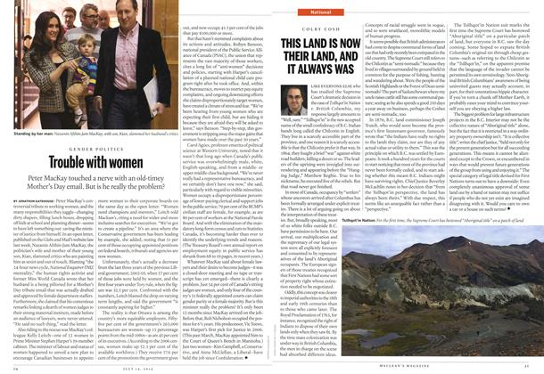 Article Preview: Trouble with women, July 2014   Maclean's