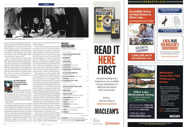 Article Preview: MACLEAN'S BESTSELLERS, July 2014 | Maclean's
