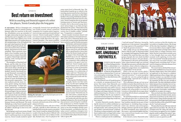 Article Preview: Best return on investment, July 2014 | Maclean's