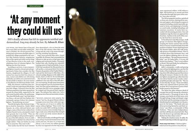 Article Preview: 'At any moment they could kill us', July 2014   Maclean's