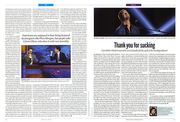 Article Preview: Thank you for sucking, July 2014 | Maclean's