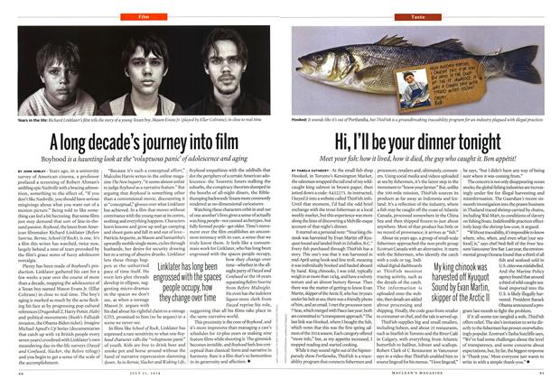 Article Preview: A long decade's journey into film, July 2014 | Maclean's