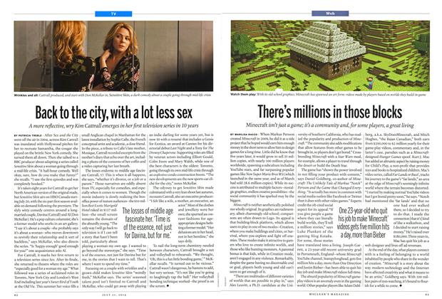 Article Preview: Back to the city, with a lot less sex, July 2014 | Maclean's