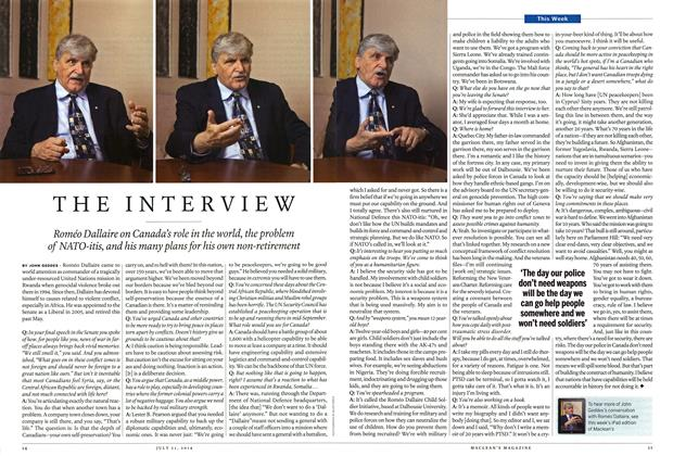 Article Preview: THE INTERVIEW, July 2014 | Maclean's
