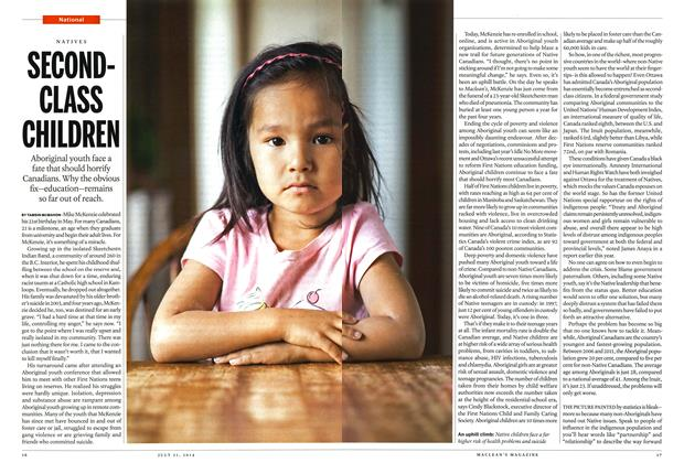 Article Preview: SECONDCLASS CHILDREN, July 2014 | Maclean's
