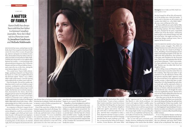 Article Preview: A MATTER OF FAMILY, July 2014 | Maclean's
