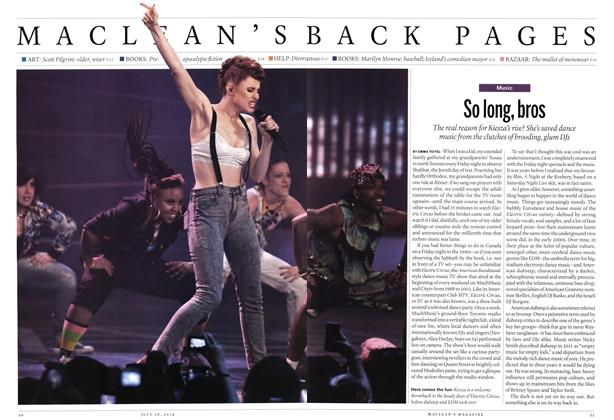 Article Preview: So long, bros, July 2014 | Maclean's