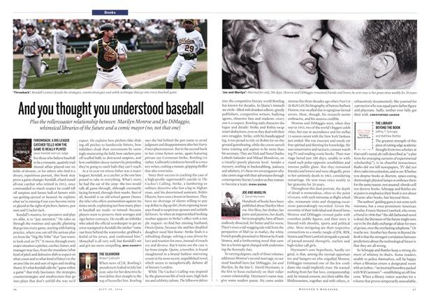 Article Preview: And you thought you understood baseball, July 2014 | Maclean's