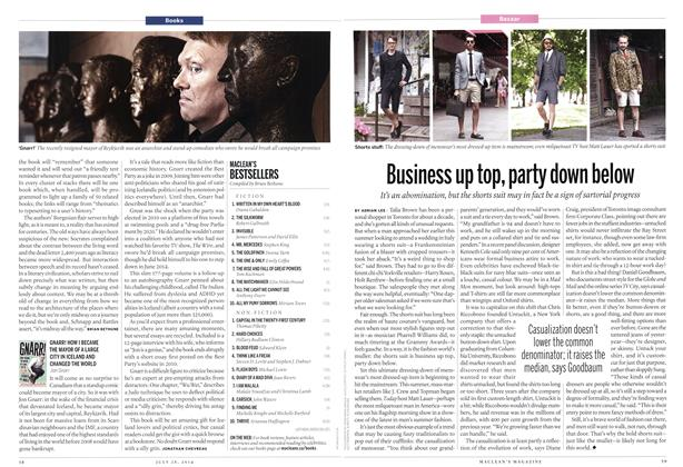 Article Preview: Business up top, party down below, July 2014 | Maclean's