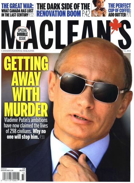 Issue: - August 2014   Maclean's