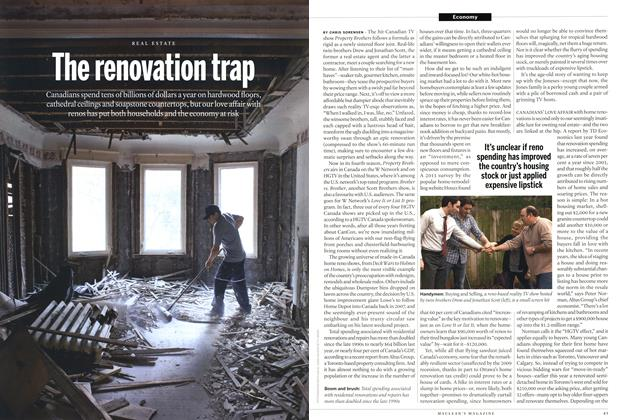 Article Preview: The renovation trap, August 2014 | Maclean's