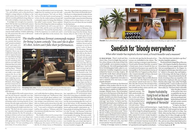 Article Preview: Swedish for 'bloody everywhere', August 2014 | Maclean's